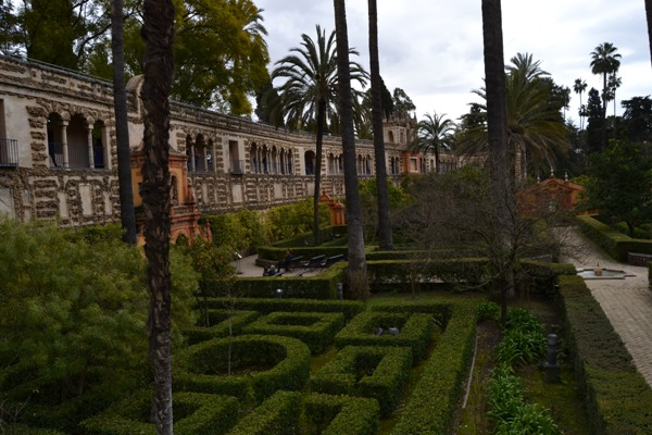 Real Alcázar de Sevilha: jardins